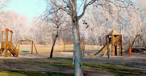 Parque intantil en Lleida