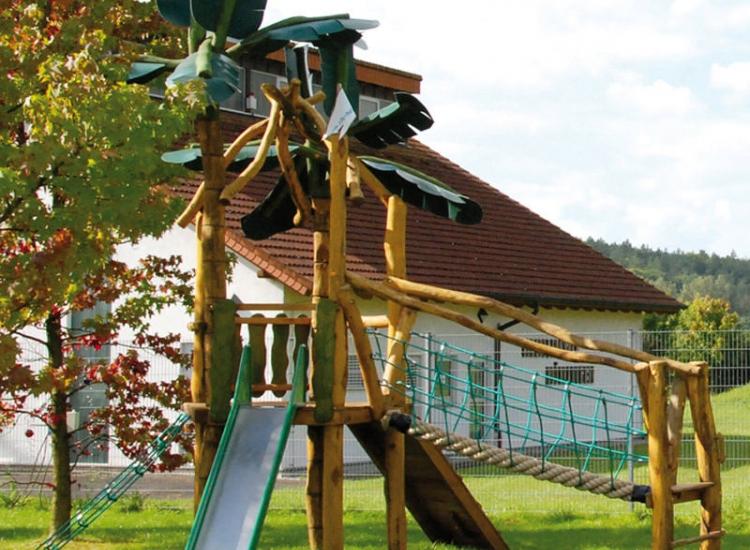 Casa de palmeras Mömlingen