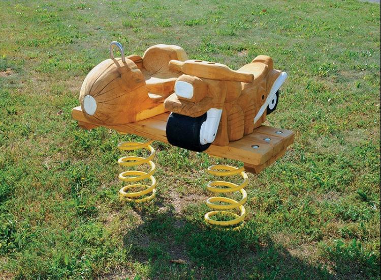 Resorte Ciclomotor con sidecar
