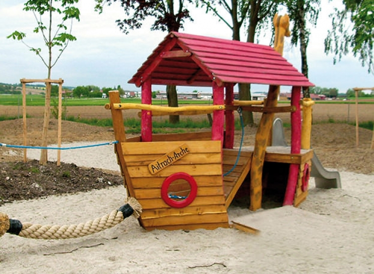 Barco Mini Arca de Noé