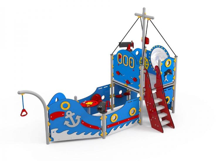 Barco Clasic con escalera