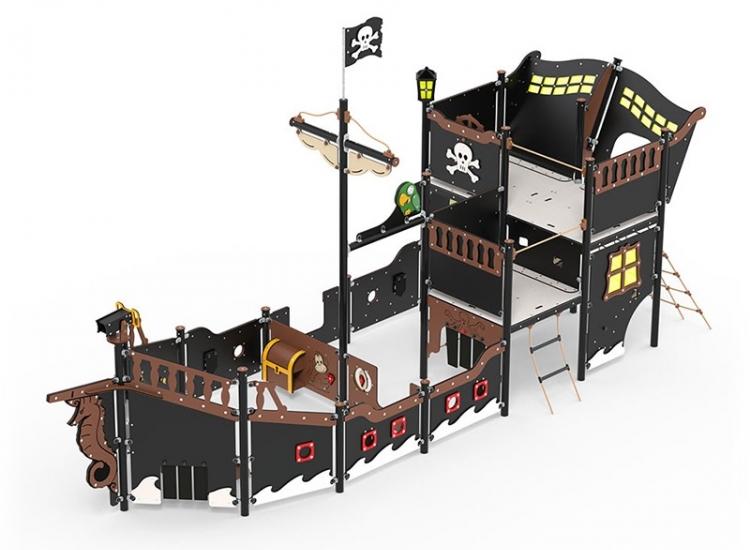 Barco Pirata Elisabeth