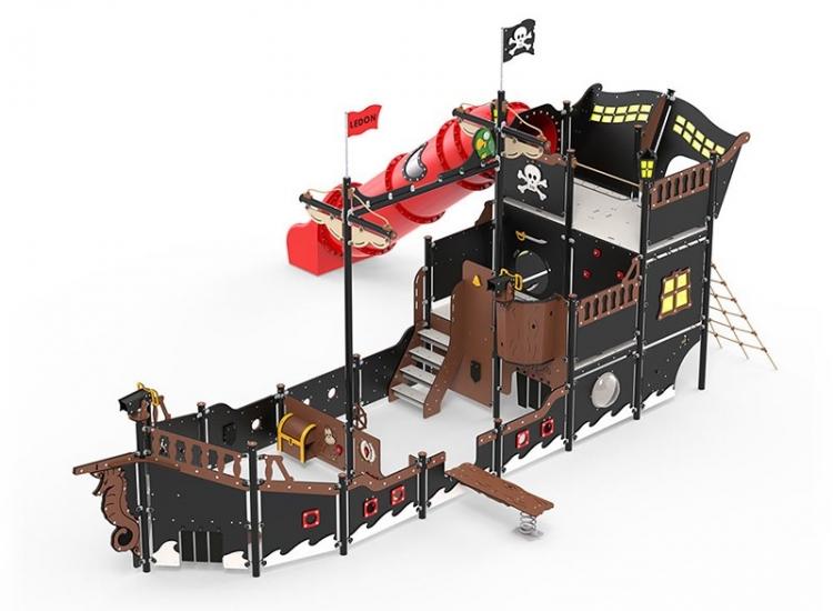 Barco Pirata Alexandrina